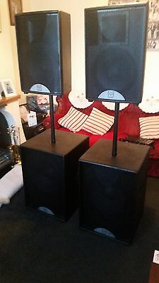 martin audio f12 s15 speakers m3 controller crown macrotech 1200 2400 amps