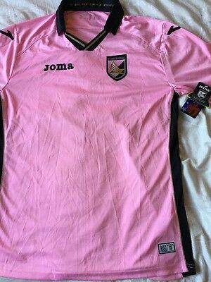 Palermo Pink Xl  New With Tags Rrp £60. Retro Shirt.   @@@looook@@@