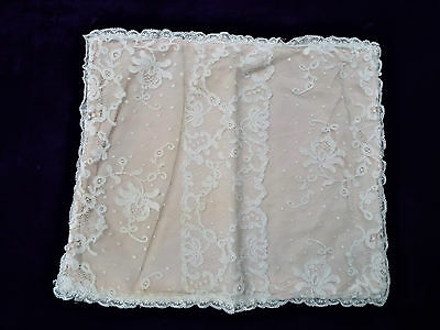 Antique Lace Cushion Cover/bruge/brussels