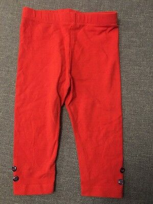 Baby girls Red leggings for 3-6 months from MiniClub - Perfect condition