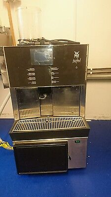 WMF Bistro Bean to Cup Comercial Coffee Machine and Fridge