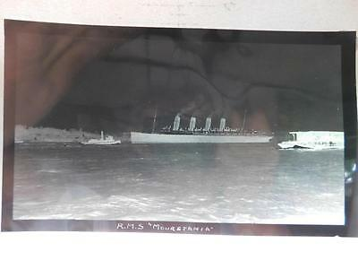 RMS Mauretania Large Transparancy  4.75 X 8 Inches (Ship-4)