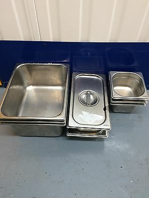 8 Stainless Steel Gastronorm / Gastro Tray