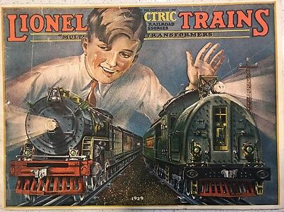 1929 Lionel Train Catalog- toy trains