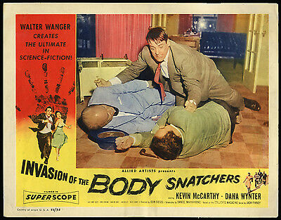 INVASION OF THE BODY SNATCHERS original 1956 US lobby card
