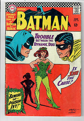 BATMAN #181 - Grade 5.0 - First appearance of POISON IVY!