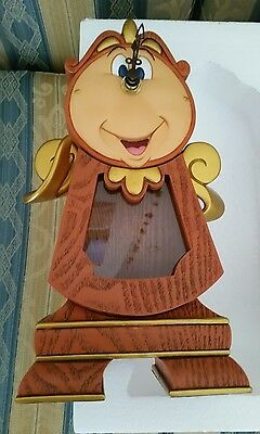 Cogsworth Pendulum Clock Din Don Dindon beauty and the beast disney limited chip