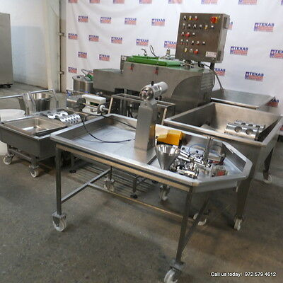 Comat Processing Manufacturing Mozarella Cheese Equipment, Italy! 3 years old!!