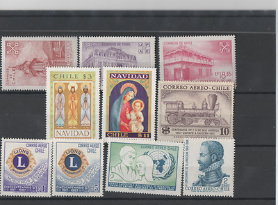 Chile - not used - 1971 - 1978 - 1954 - 1967 - 1971