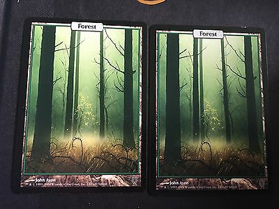 Unhinged Forest -- X2--MTG