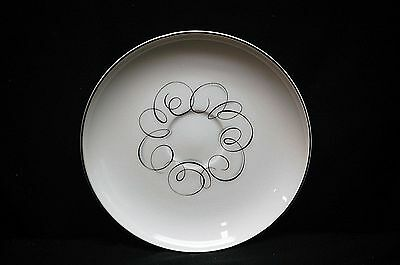 Old Vintage Rhythm by Style House China Saucer Plate Black & Gray Circular Japan