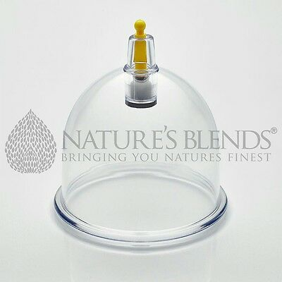 150 Nature's Blends Hijama Cup Cupping Therapy B1 5.95cm Free Next Day Delivery