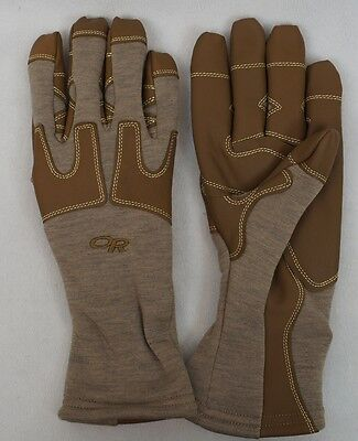 OR FR Swoop Liner Gloves Flame Resistant Fleece Gloves Outdoor Research Tan
