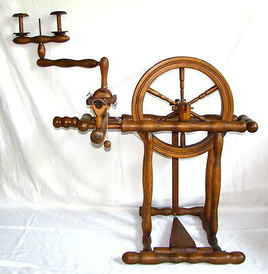 "Spinning Wheel Dutch ""gelders'', Cooper Colette French Normandy Style Double Dr."