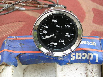 New Smiths/Tudor Oil Temperature Gauge (Kit,Mg,Land Rover,ford,Mini,Austin) Temp