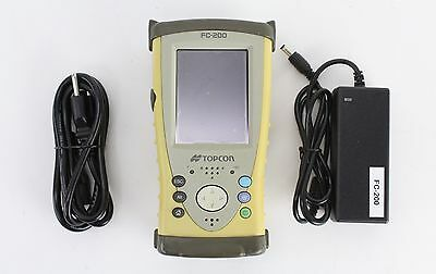 Topcon FC-200 Data Collector w/ Pocket 3D Ver 10.0.3, GPS Survey Construction