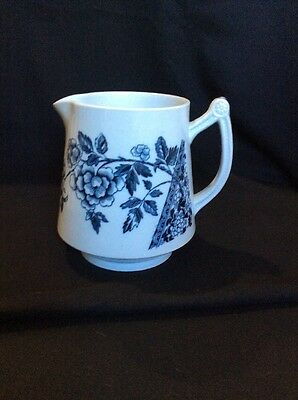 Vintage Foley Aesthetic Small Blue Pitcher