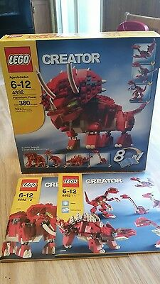 LEGO Creator 4892 Prehistoric Power 8 in 1-incomplete missing 10 pieces