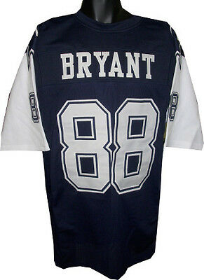 Dez Bryant Unsigned Custom Sewn White Football Jersey Size