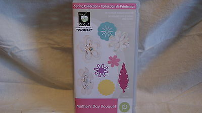 Cricut Cartridge - MOTHERS DAY BOUQUET - Gently Used - No book - Box