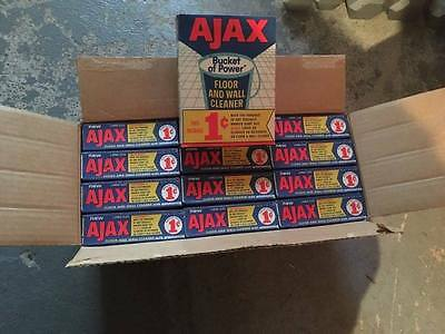 VTG BOX AJAX GIANT SIZE 0,01$ Limited Edition RARE NOS CLEANER COLGATE PALMOLIVE
