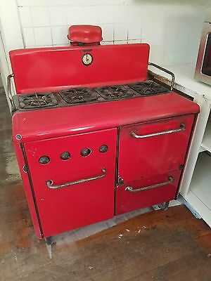 Vintage 1920s Red Stove
