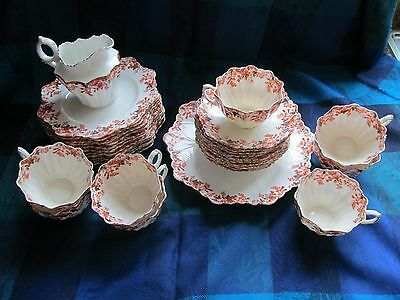 The Paragon China, England, Bone China Deco 32 Pc. Tea Set - Vgc
