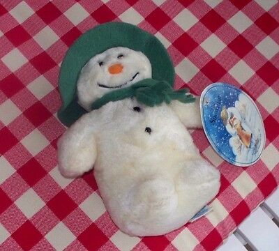"""Raymond Briggs, """"The Snowman"""", 9"""" Eden Plush Stuffed Toy with Hang Tag"""