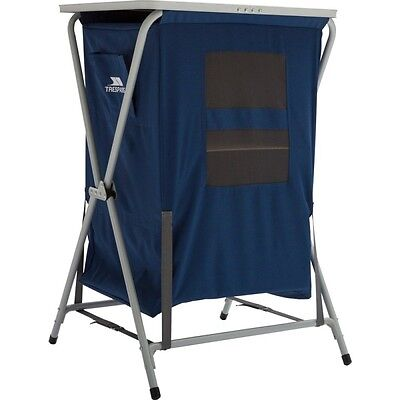 New Trespass Foldable Folding Storage Table Camping Hiking Festival Cupboard