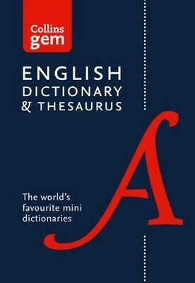 NEW Collins Gem Dictionary and Thesaurus [6th Edition] By Collins Dictionaries