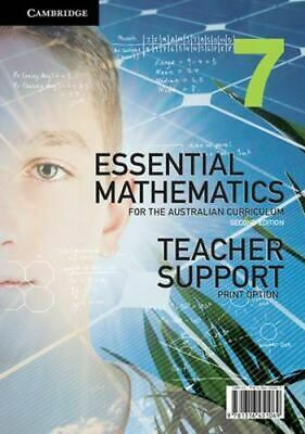 NEW Essential Mathematics AC Year 7 By David Greenwood Paperback Free Shipping