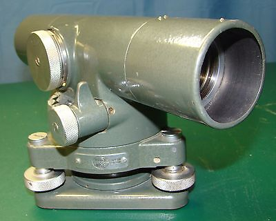 Vintage Hilger & Watts SL60-2 Autoset Level mfg. by Dietzgen Co. With Metal Case