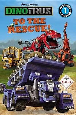 NEW Dinotrux to the Rescue! By Emily Sollinger Paperback Free Shipping