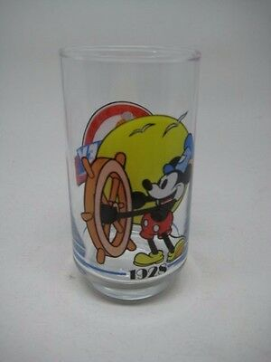 Vintage Disney Mickey Mouse glass 1928-1988 - 60 YEARS celebration
