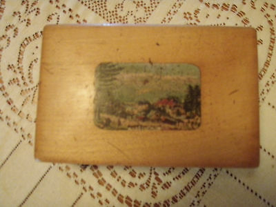 antique cylinder music box, made in paris france