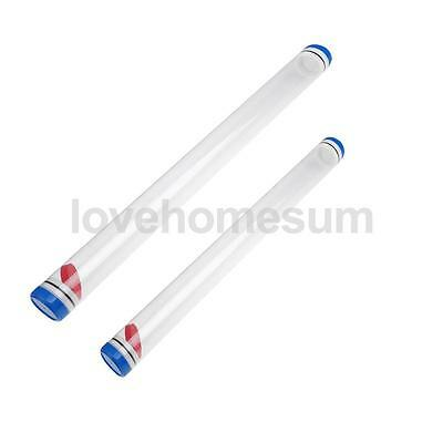 Protective 1.8inch Dia Plastic Float Tubes Length 40cm / 50cm with End Caps