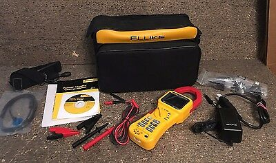 *PERFECT* Fluke 345 Power Quality PQ Clamp Meter 200A 600 V CAT IV