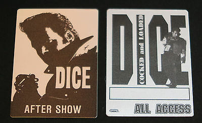 Andrew Dice Clay - Set of two backstage passes