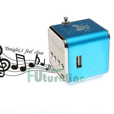 Mini altavoz portátil USB Music MP3 / 4 jugador Micro SD / TF FM Radio Bluetooth