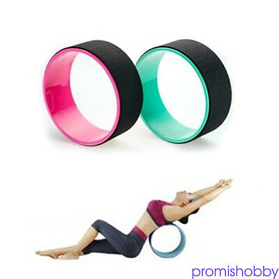 Yoga Wheel Balance Support Extra Strength Backbends Gym Yoga Props Durable