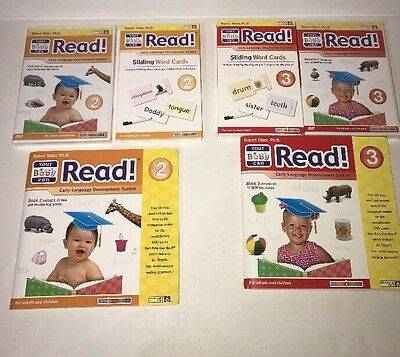 Your Baby Can Read Early Language Development Level 2-3 with book/cards/dvd set