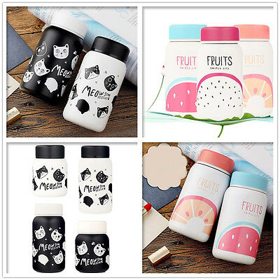 Cartoon  Cup Adult Baby Bottle for Water Stainless Steel Baby Cup Thermos Bottle