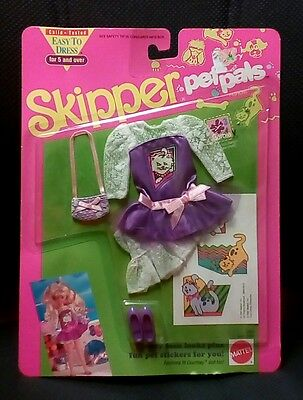 Barbie Mattel Skipper - Pet Pals Outfit Easy To Dress #2955 2959 Sealed