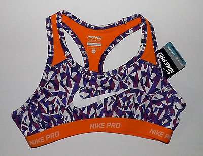 Nike Girl's Youth Pro HyperCool Dri-Fit Sports Bra 811965 560 MEDIUM (10-12) NWT