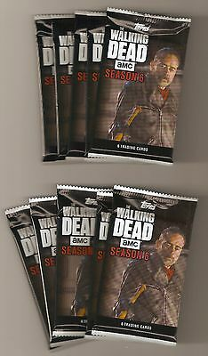 10-2017 TOPPS WALKING DEAD SEASON 6 Factory Sealed Unopened PACKS