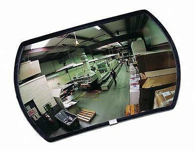 "See All RR1524 Round Rectangular Glass Indoor Convex Security Mirror 24"" Leng..."