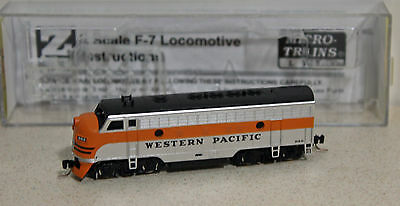 Z Scale Micro-Trains WESTERN PACIFIC F7 #919-D --  NEW IN BOX