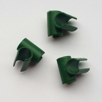 Pack of 20 -90° Connectors for Plastic Coated Steel Bamboo Cane Plant Support