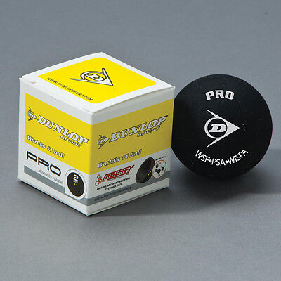 Dunlop Racquet Sport Club Players Training Official Pro Squash Ball - Pack Of 12