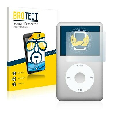2x BROTECT Displayschutzfolie Klar Apple iPod classic 160 GB 7. Generation